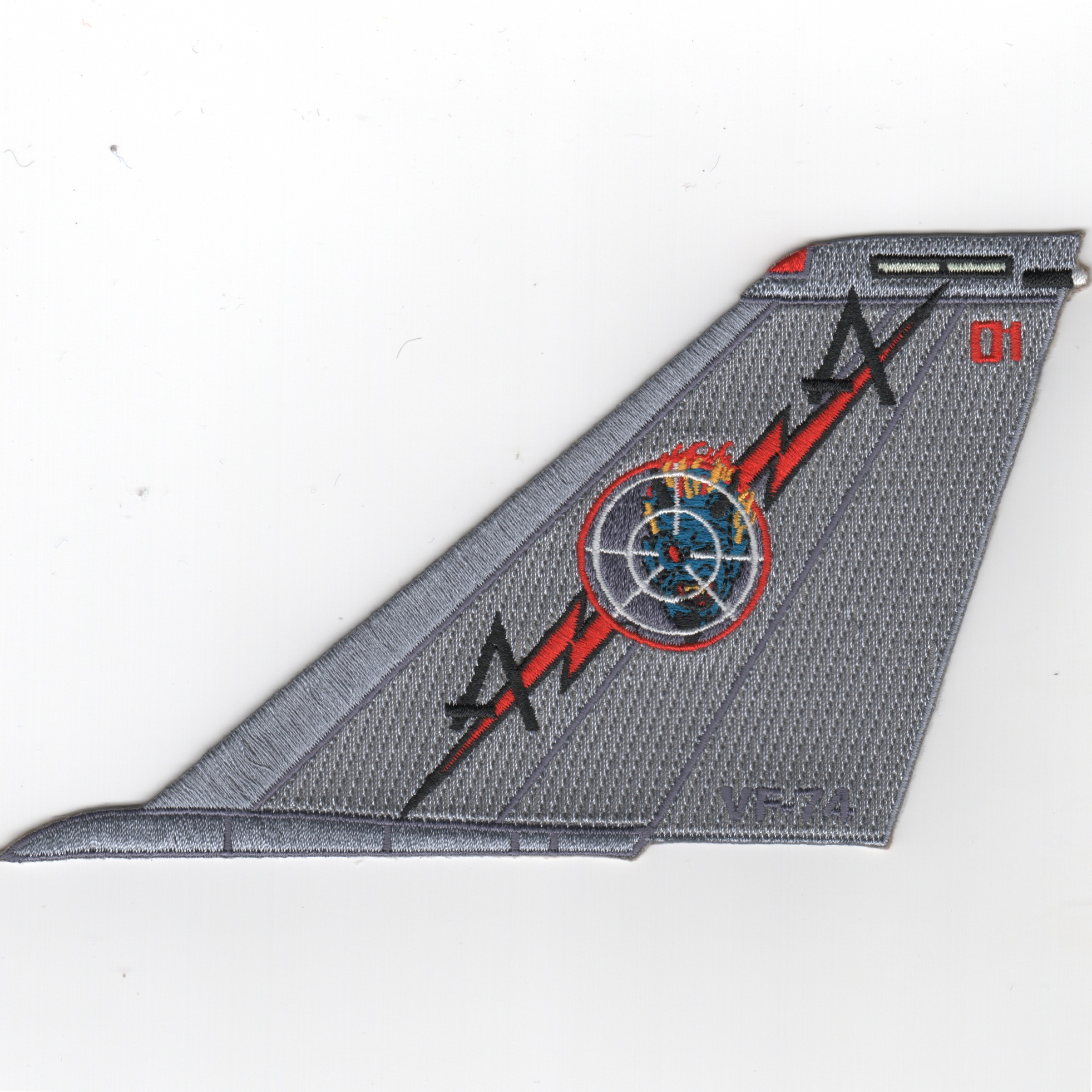 VF-74 F-14 Tomcat TailFin (No Text/Color/01)