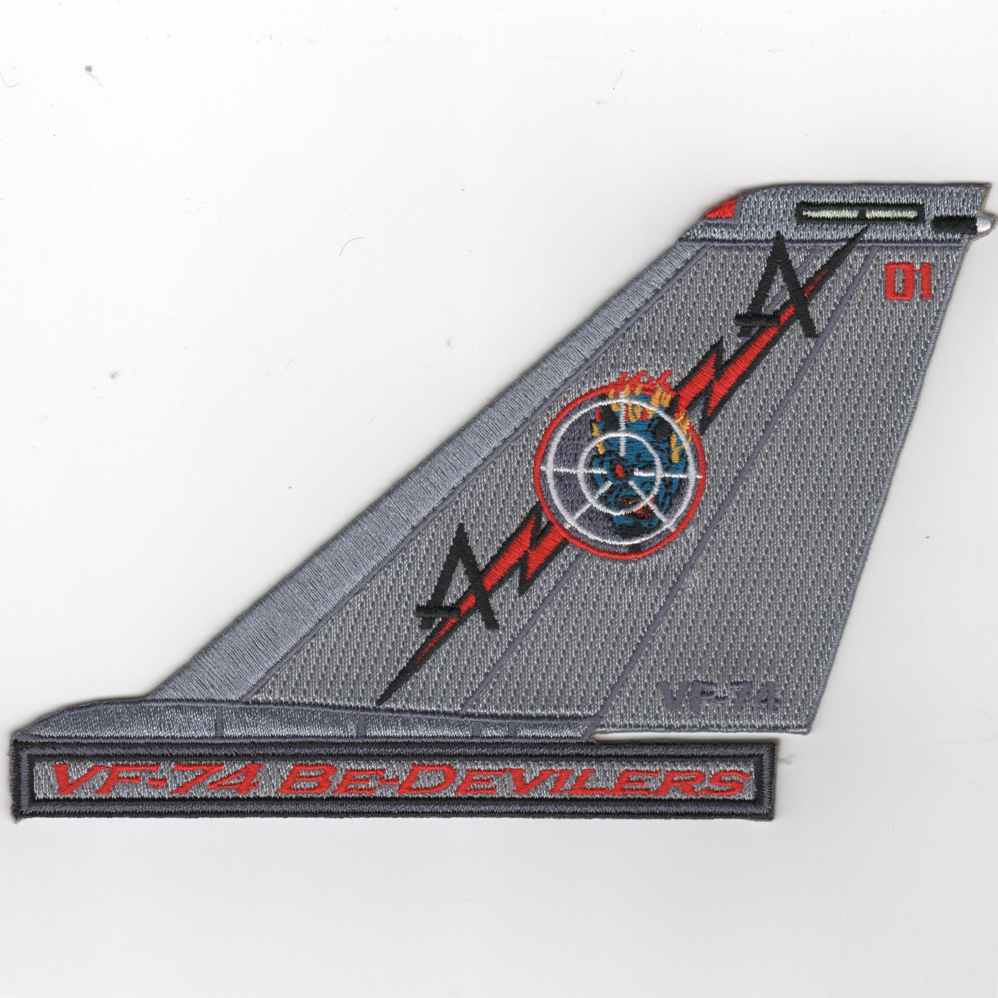 VF-74 F-14 Tomcat TailFin (Text/Color/01)