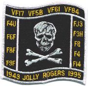 VF-84 1995 Decommission Patch