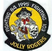 VF-84 to VF-103 Felix Patch