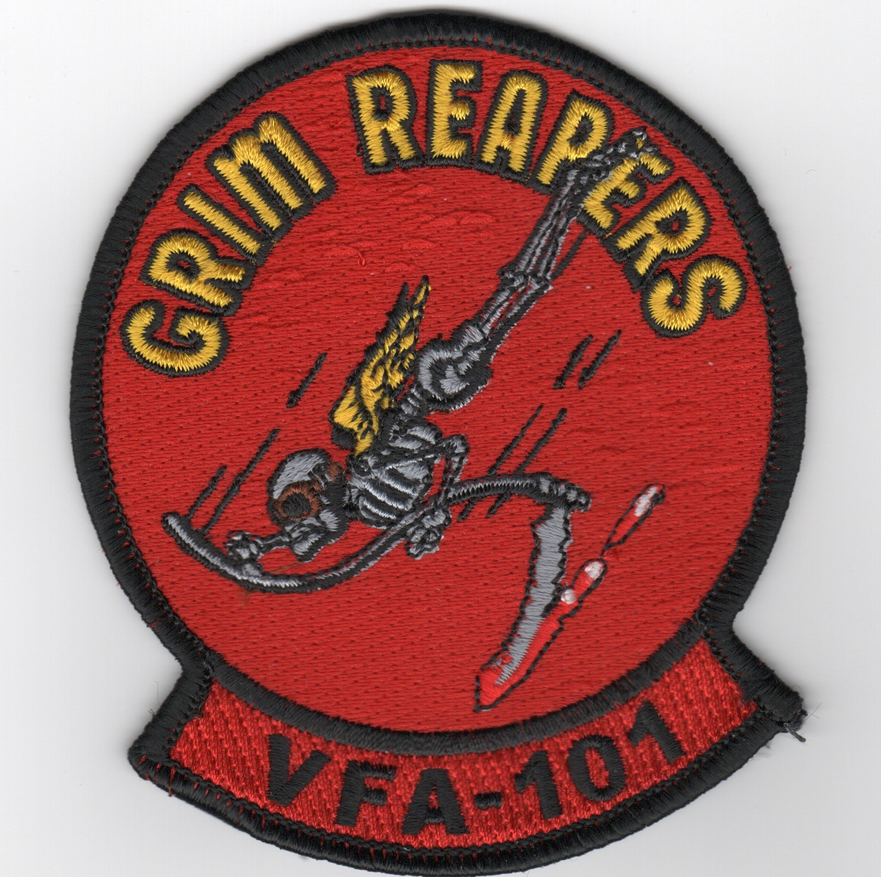 VFA-101 Squadron Patch (Red)
