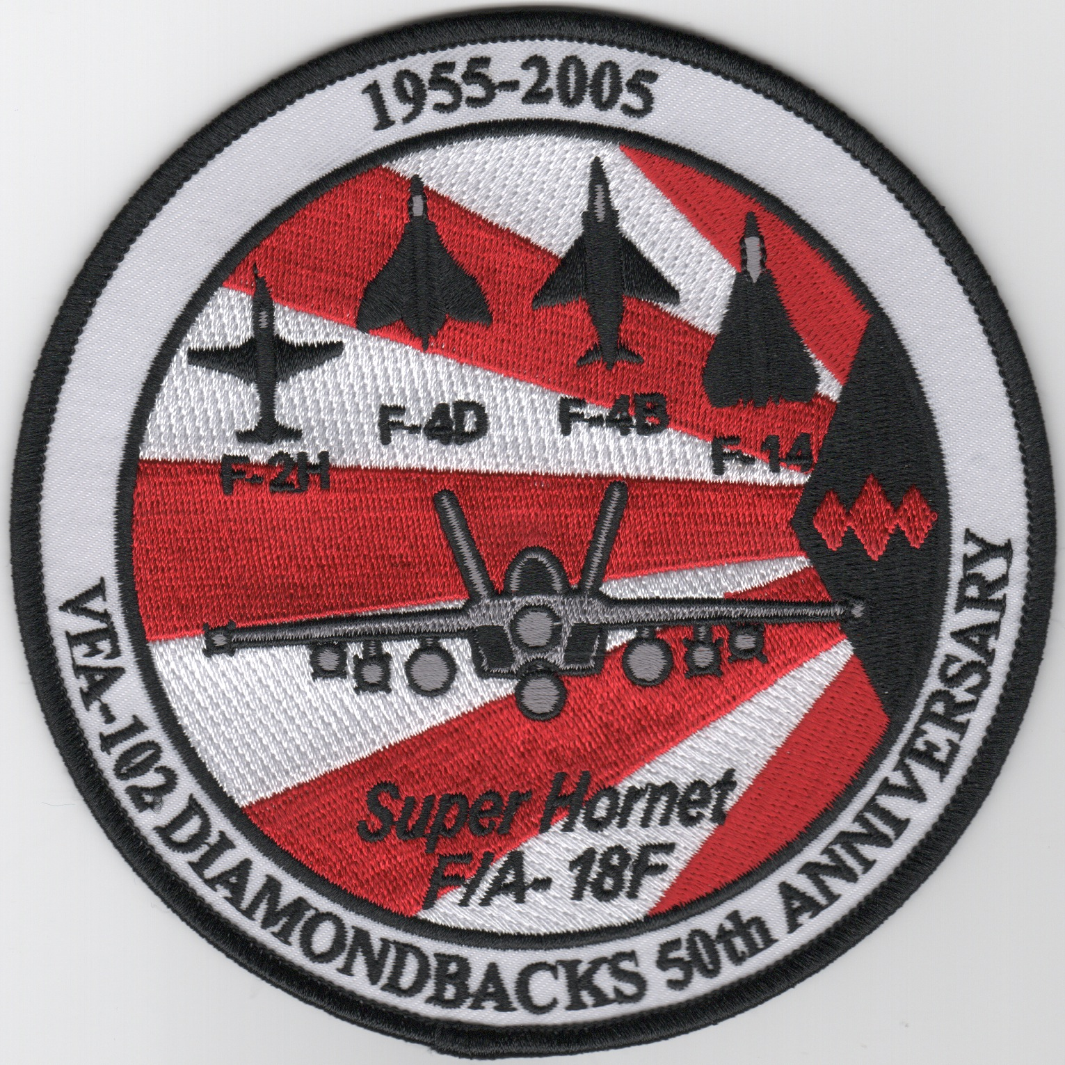 VFA-102 '50th Anniversary' Patch (Large/Round)