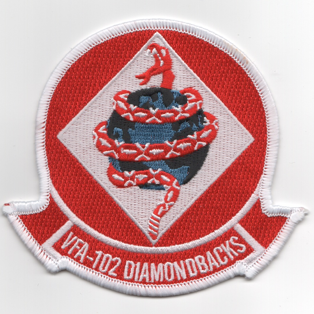VFA-102 Squadron Patch (Red)