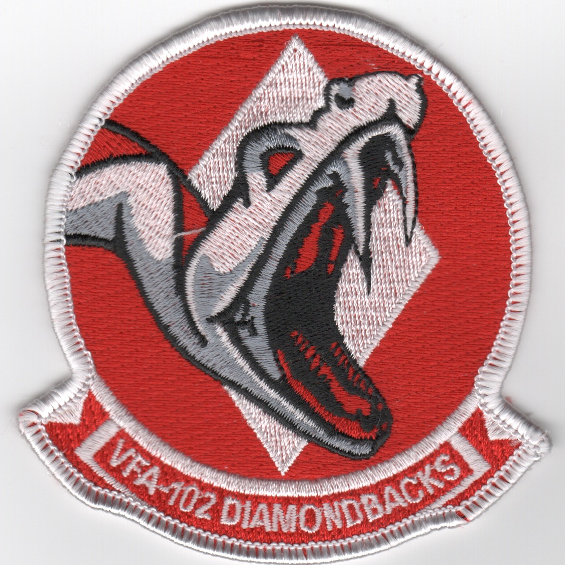 VFA-102 Squadron 'SNAKE HEAD' Patch