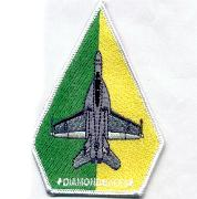 VFA-102 Aircraft Patch (Green/Yellow)