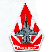 VFA-102 Aircraft Patch (Red/White)