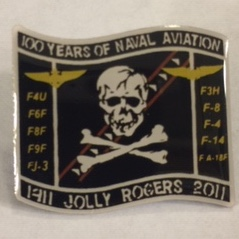 Lapel Pin: VF/VFA-103 '100 Years of Naval Aviation'