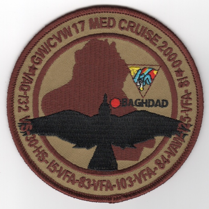 VFA-103/CVW-17 '2000 'Black Bird' Cruise Patch