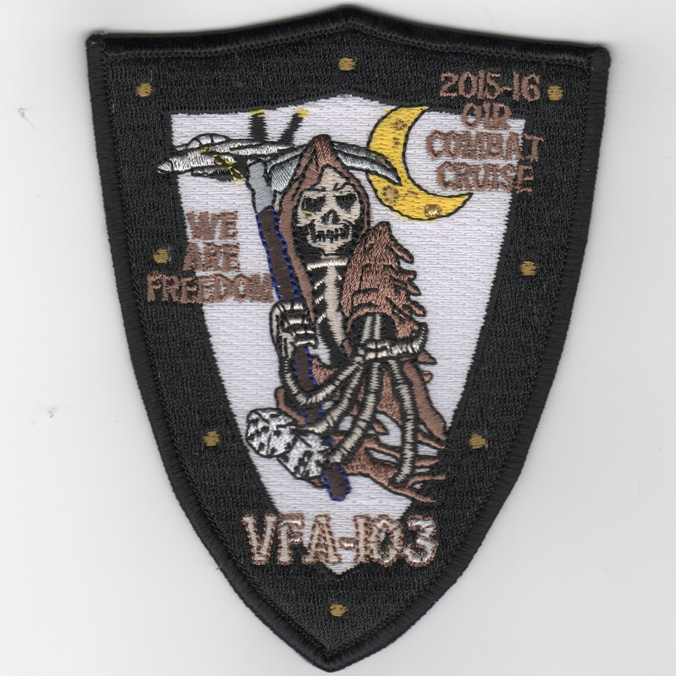 VFA-103 2015-16 'OIF Combat Cruise' Patch