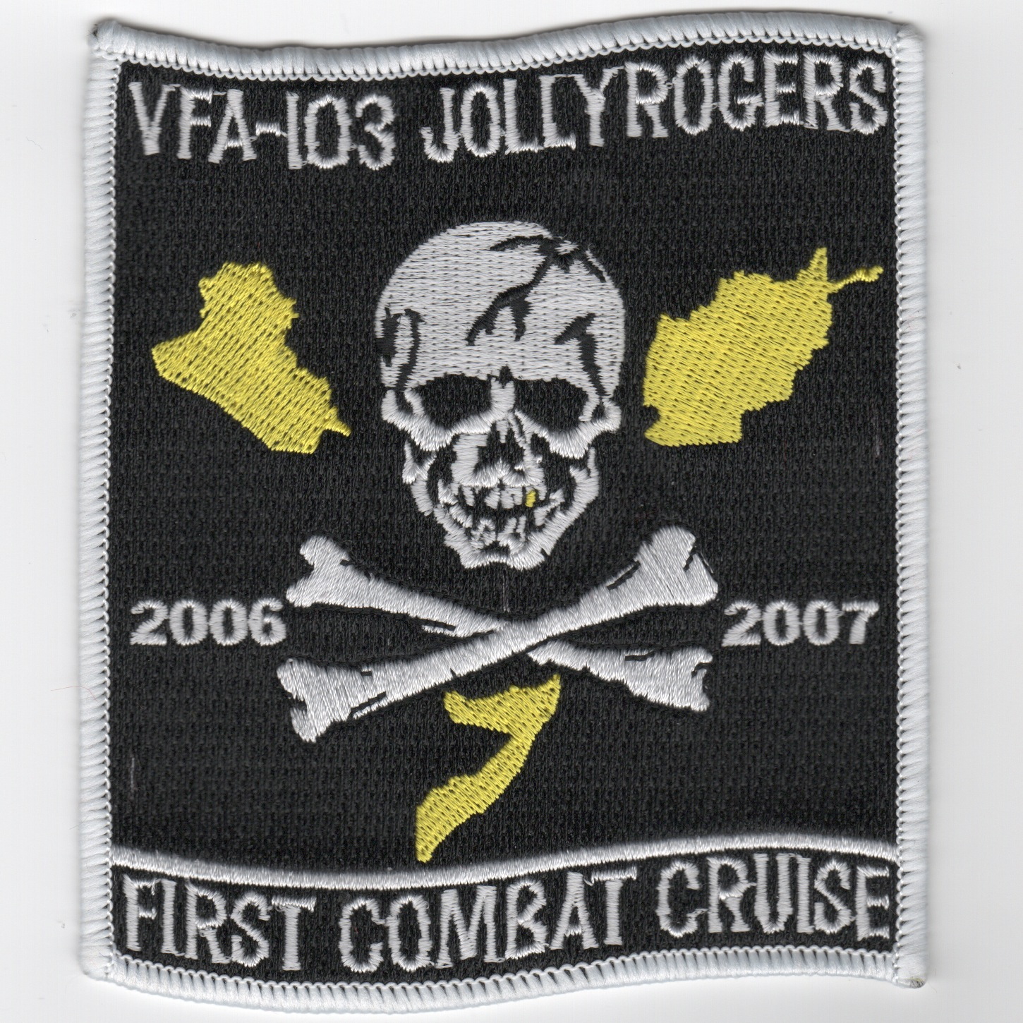 VFA-103 First COMBAT Cruise Patch