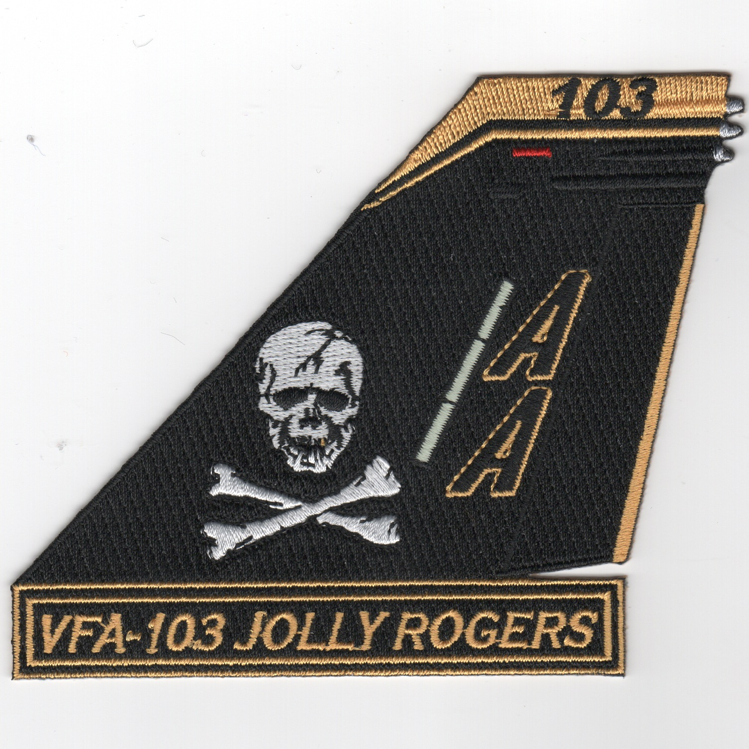 VFA-103 'Jolly Rogers' TAILFIN Patch
