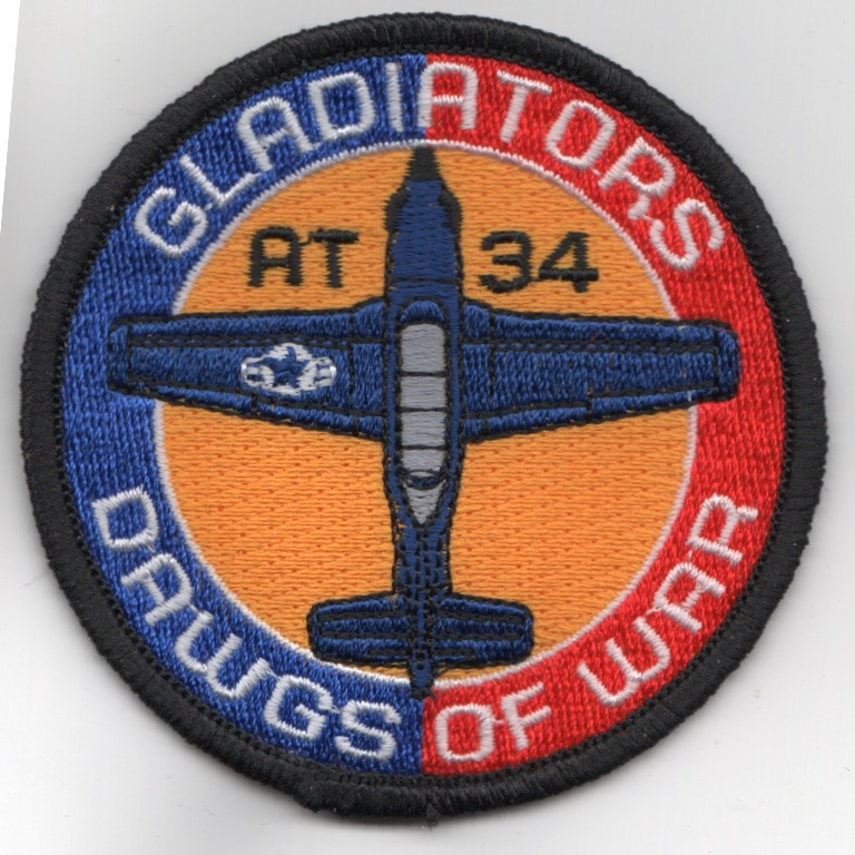 VFA-106 'AT-34' Bullet Patch (Orange)