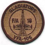 VFA-106 Aircraft Patch (Desert)