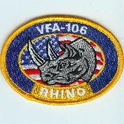 VFA-106 Oval (Yellow)