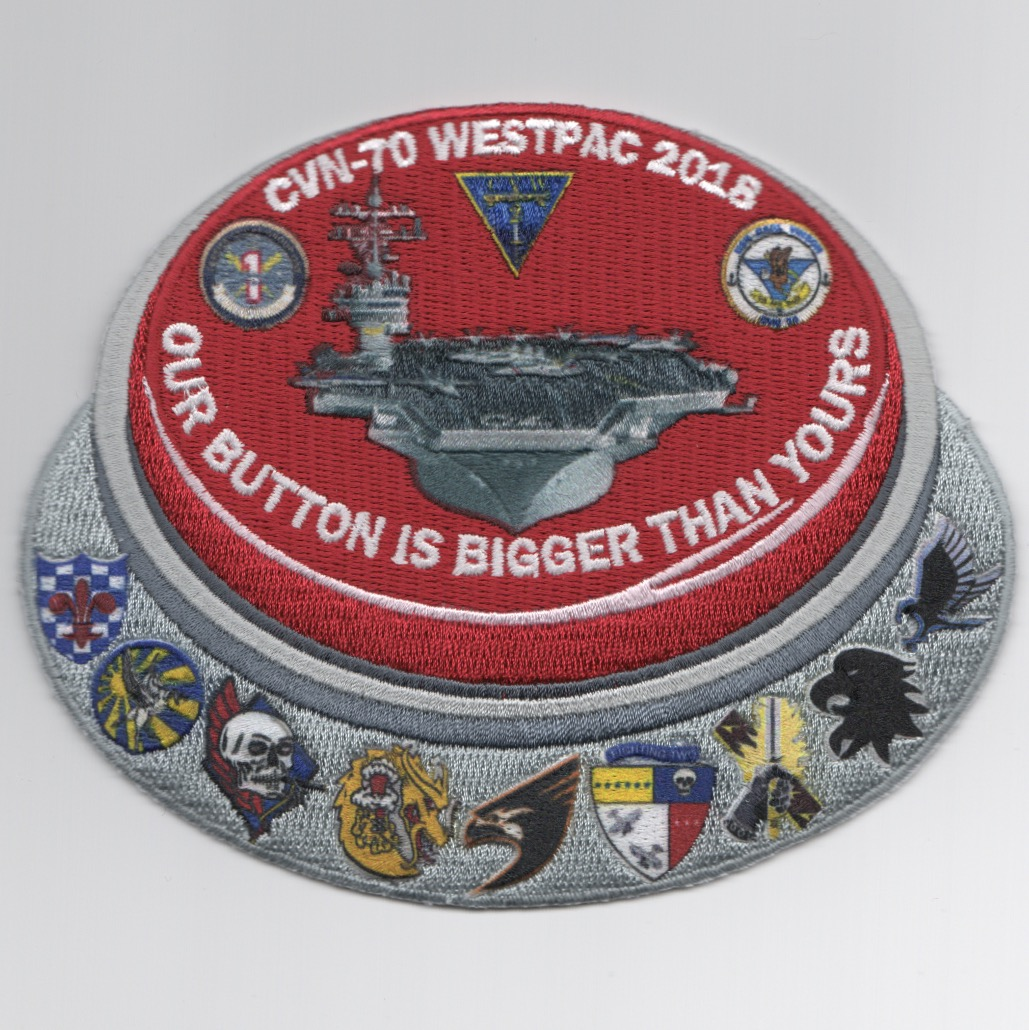 VFA-137 2018 'Bigger Button' Cruise Patch