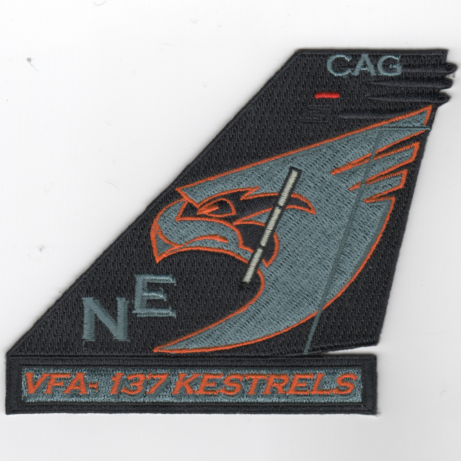 VFA-137 TailFin (CAG/Blue Form Lights)