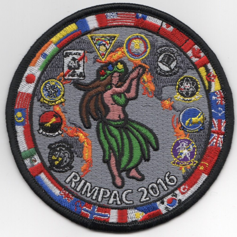 VFA-41/14 Joint 2016 'RIMPAC' Cruise Patch