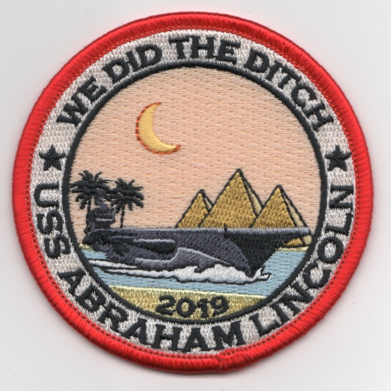 CVN-72/VFA-143 2019 'Did-The-Ditch' Patch