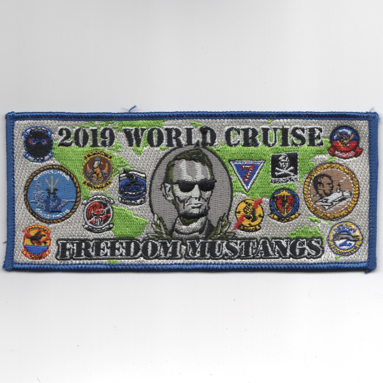 VFA-143 2019 'FREEDOM' Cruise Patch