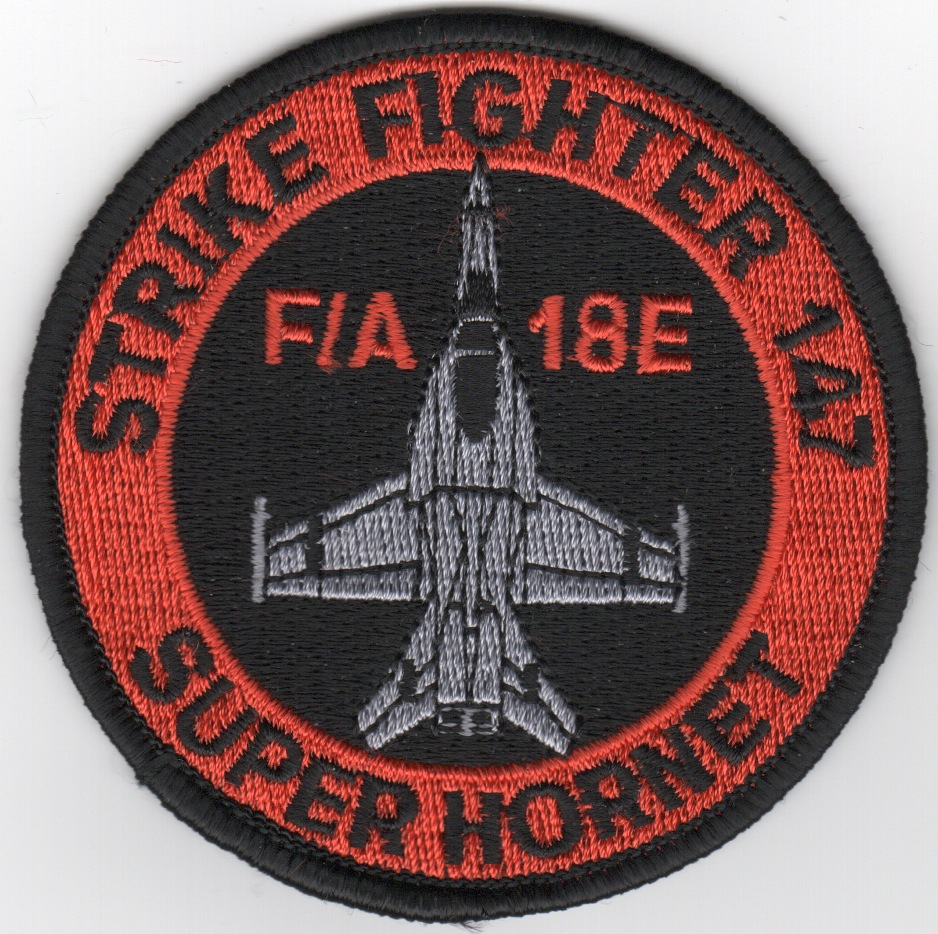 VFA-147 SUPER-Hornet Aircraft Patch (Black)