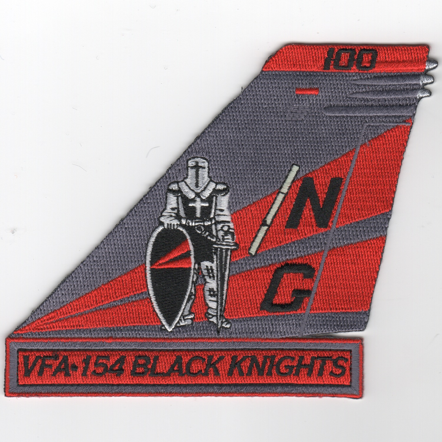 VFA-154 TailFin (Red/Blk/Knight)