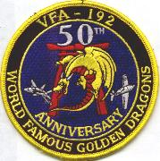 VFA-192 50th Anniversary Patch