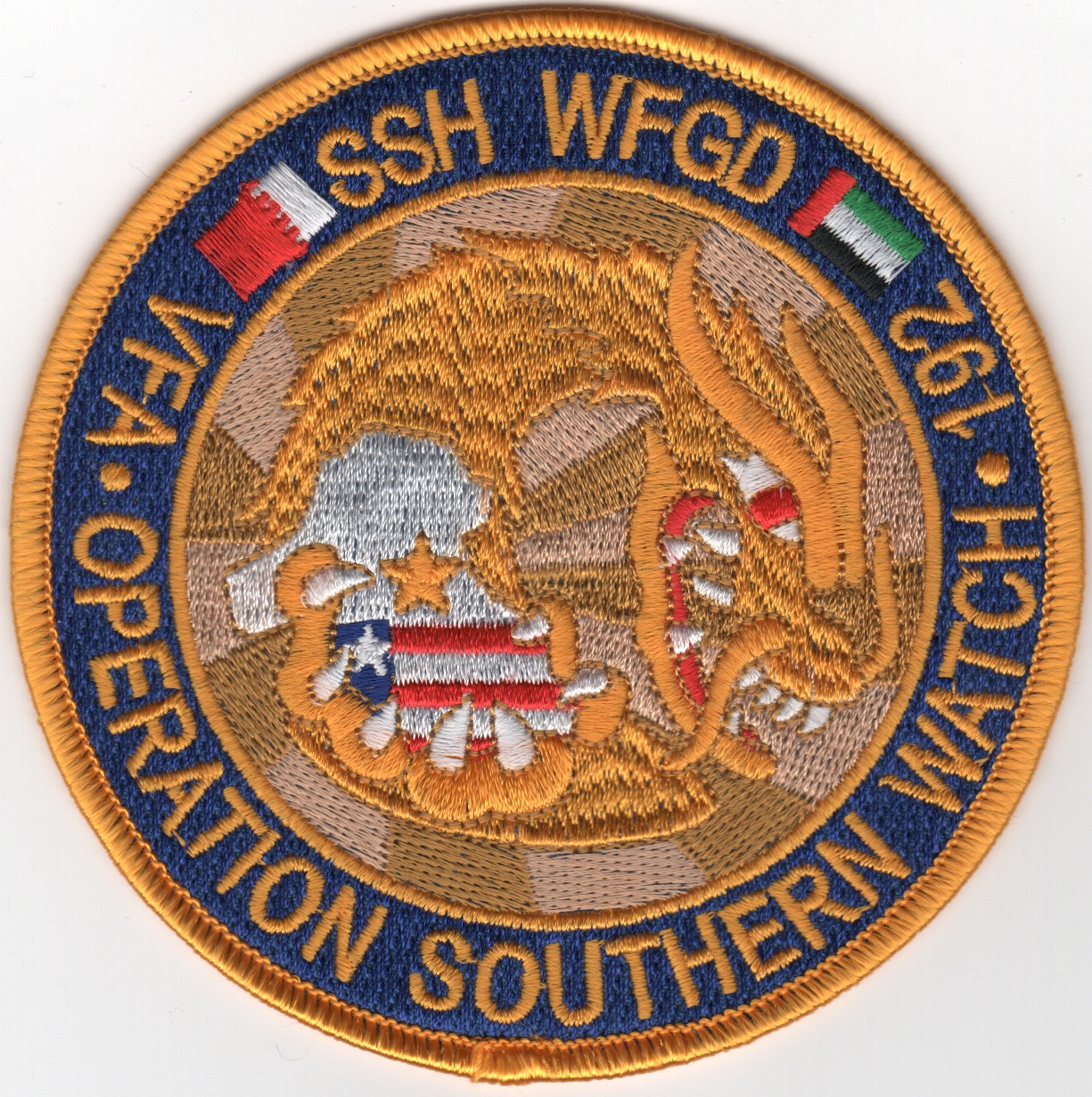 VFA-192 1992 'OSW' Cruise Patch