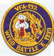 VFA-192 1999 Battle 'E' Patch