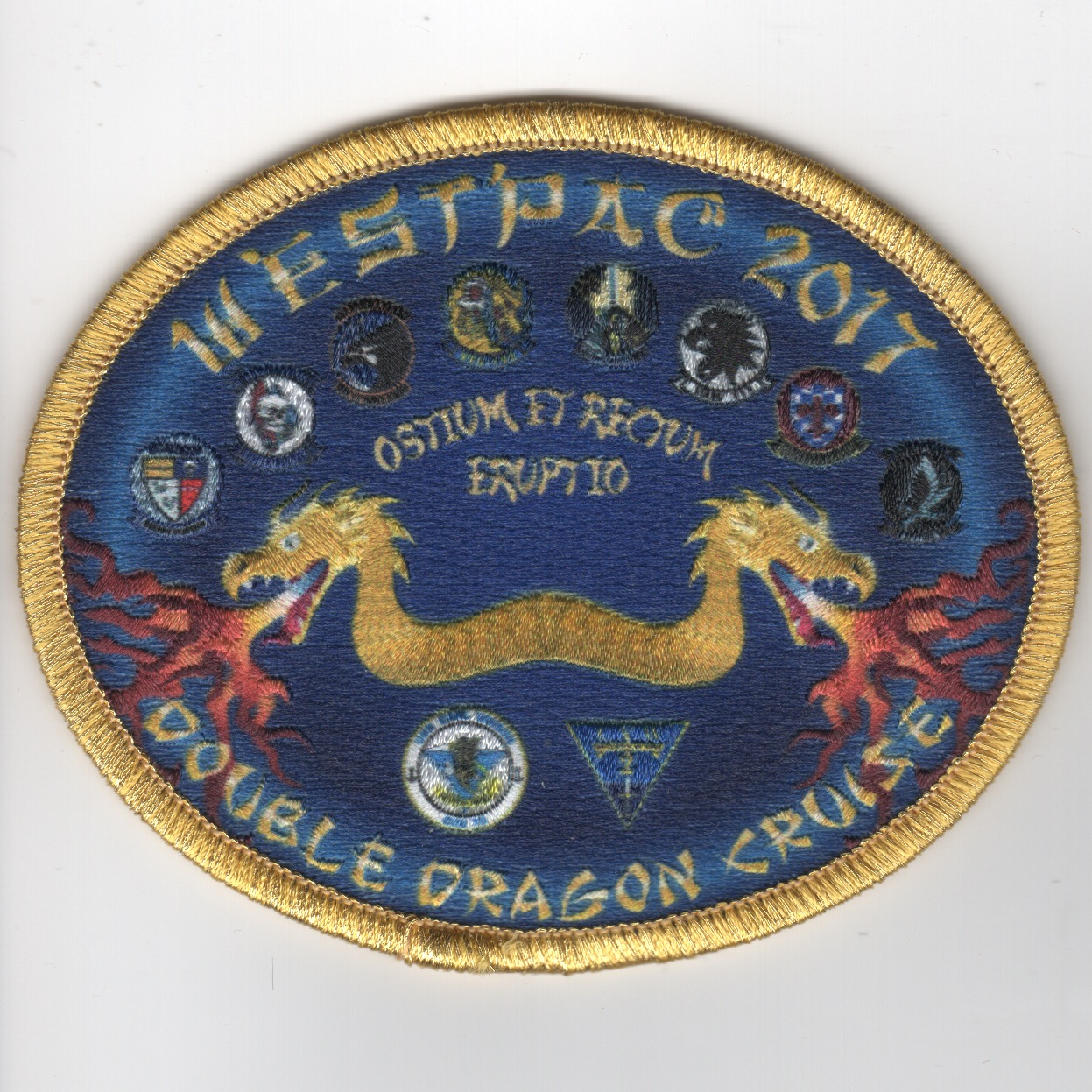 VFA-192 2017 'Double Dragon' Cruise Patch