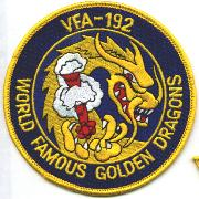 VFA-192 Squadron Patch (Round)