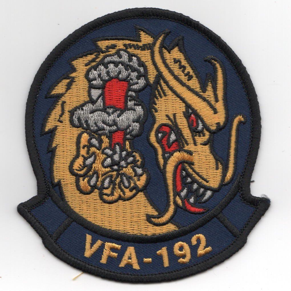 VFA-192 Squadron Patch w/Tab
