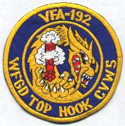 VFA-192 Top Hook/CVW-5 Patch