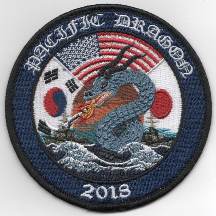 VFA-2 2018 'PACIFIC DRAGON' Cruise Patch