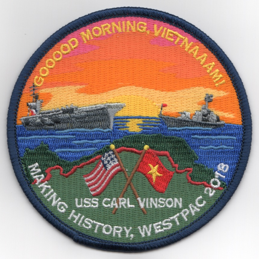 VFA-2 2018 'VIETNAM PORTCALL' Cruise Patch