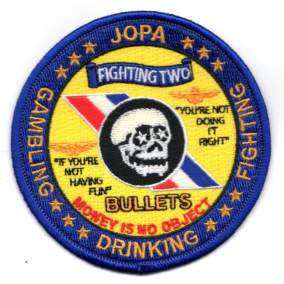 VFA-2 'JOPA' Patch (SKULL in center)