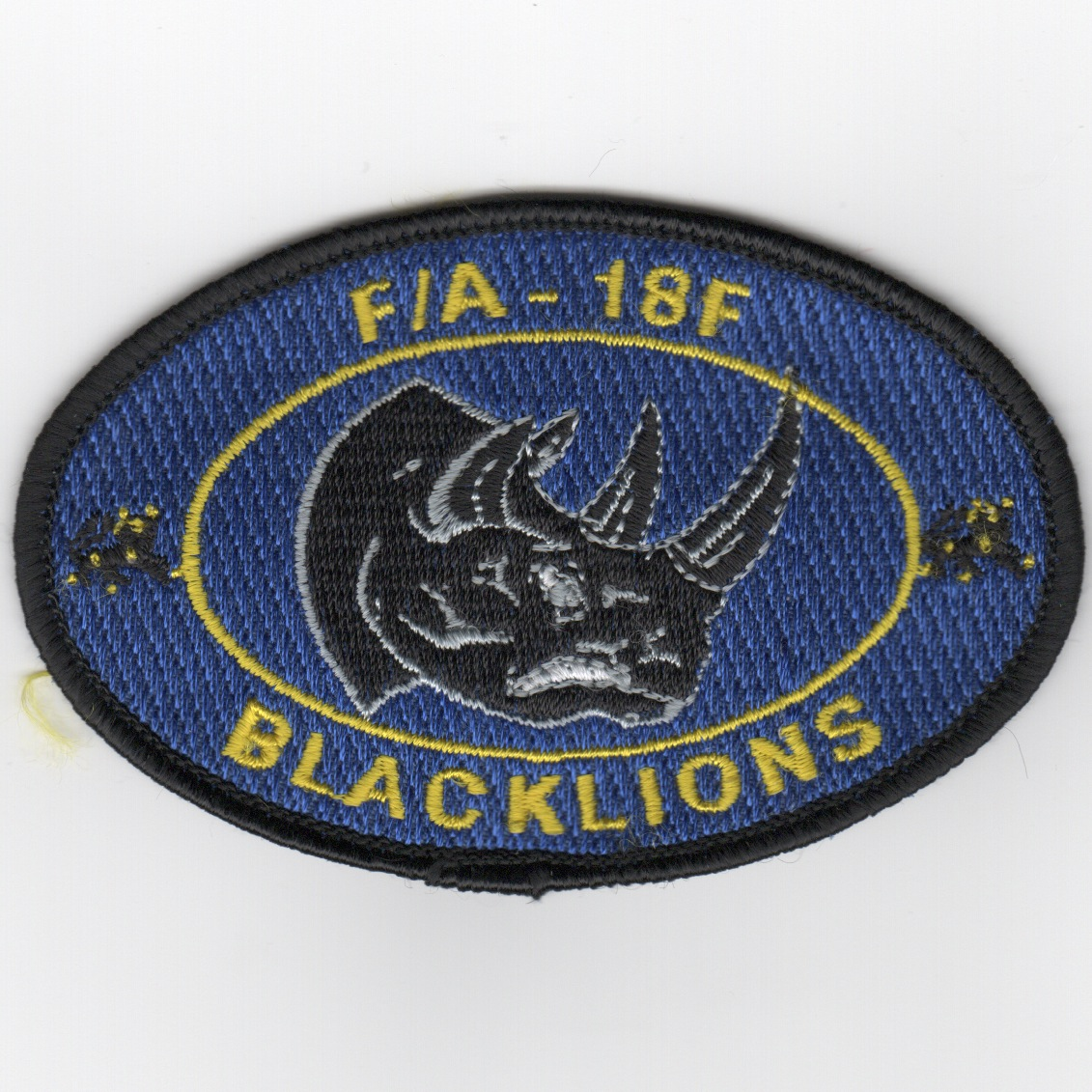 VFA-213 A/C Oval Patch (Blue)
