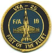 VFA-25 Aircraft Patch