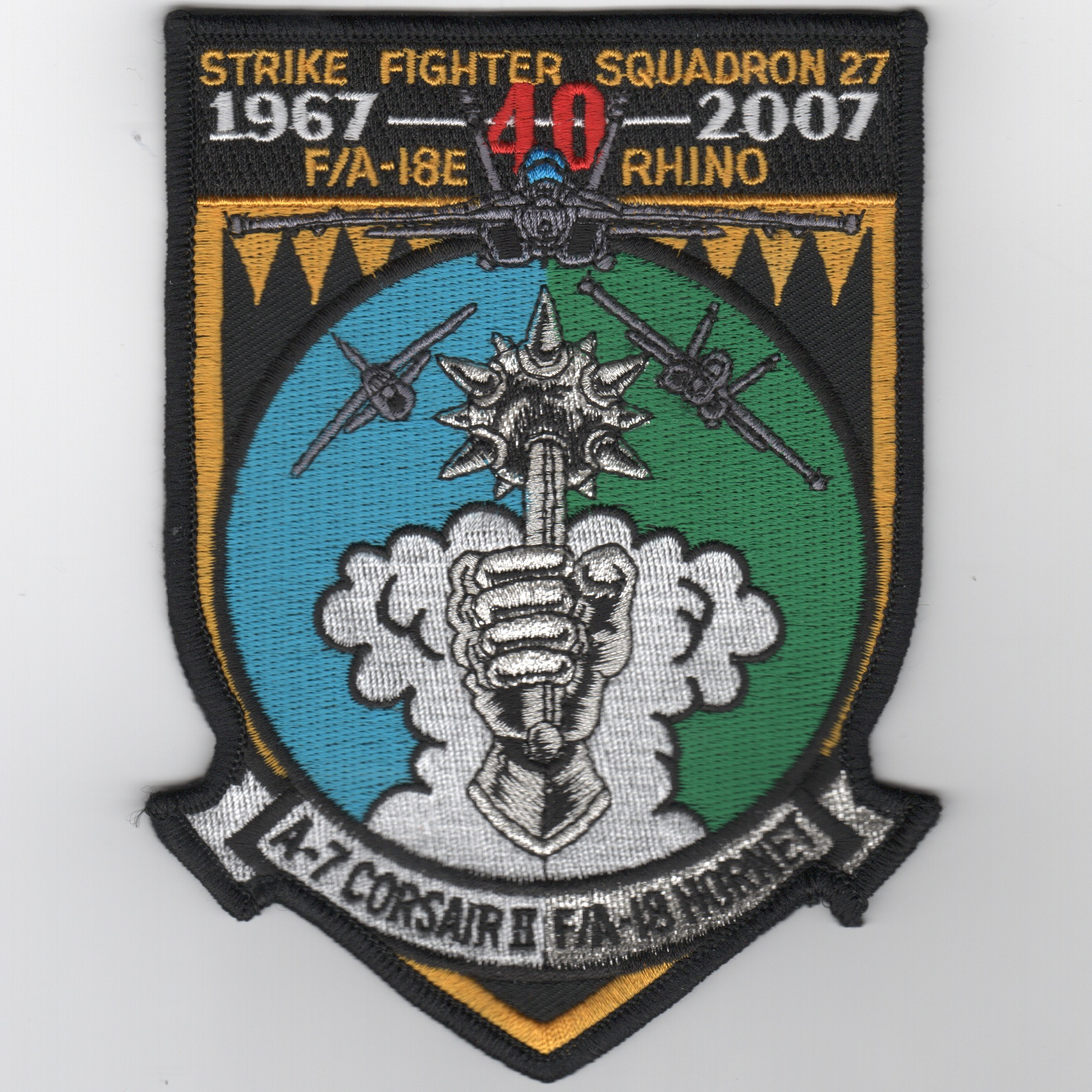 VFA-27 40th Anniversary Patch