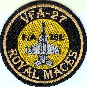 VFA-27 A/C Patch (Round)