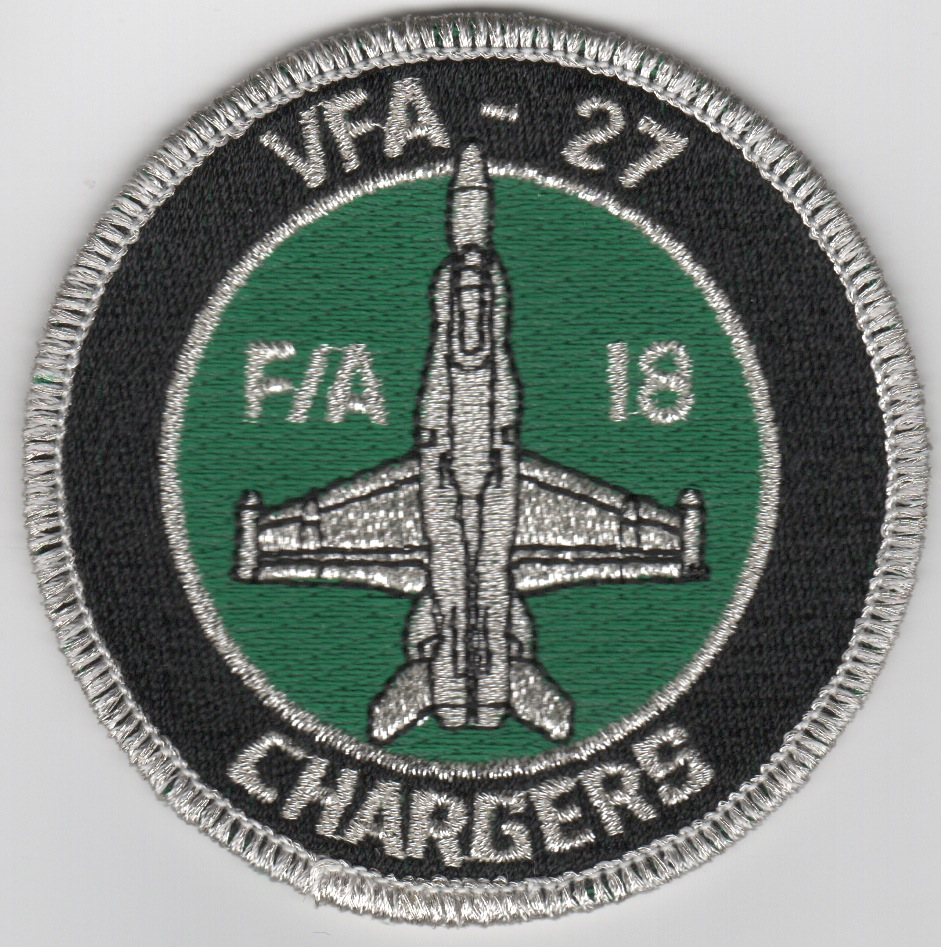 VFA-27 'Chargers' Bullet (Green)