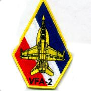VFA-2 Aircraft 'Coffin' Patch
