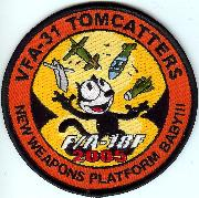 VF-31 F/A-18F Weapons Patch (Orange-Round)