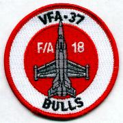 VFA-37 Bullet Patch (Red)