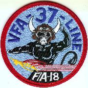 VFA-37 Maintenance Patch (Red)