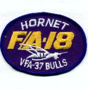 VFA-37 Oval Aircraft Patch