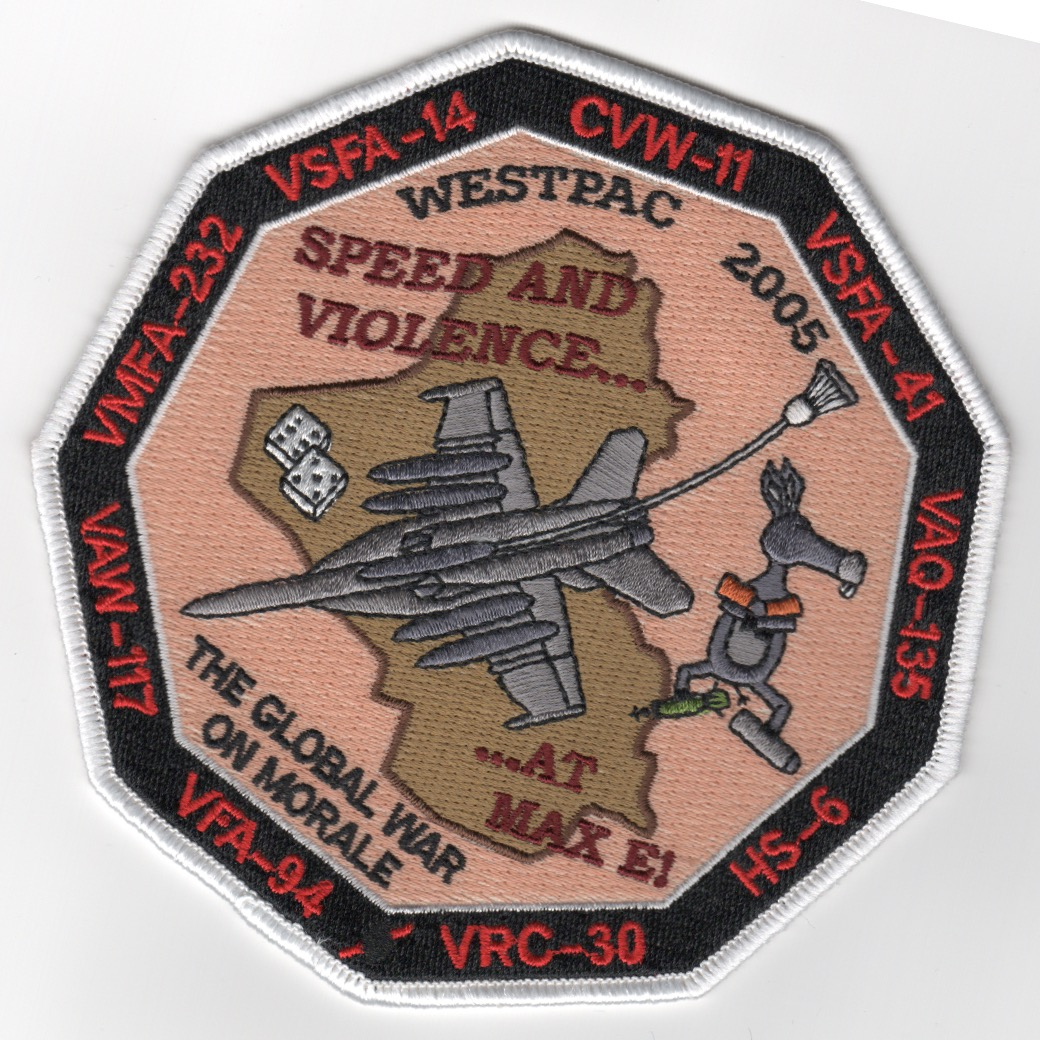 VFA-94 '2005 WESTPAC' Cruise (9-sided)