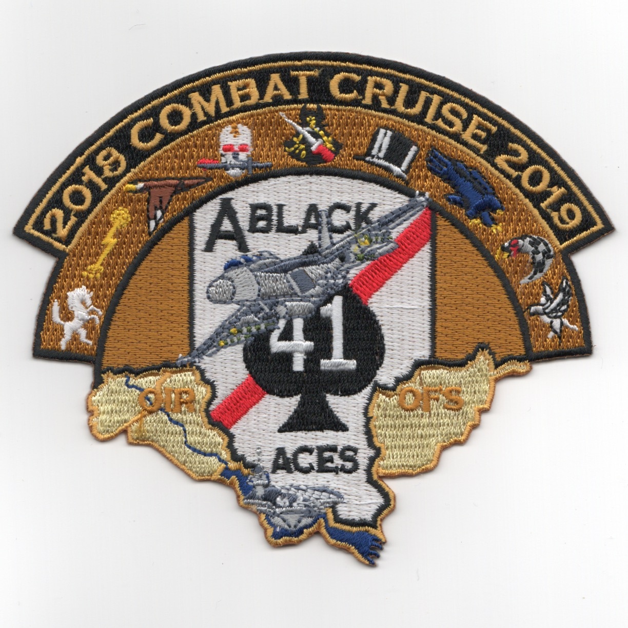 VFA-41 2019 'Combat Cruise' Patch