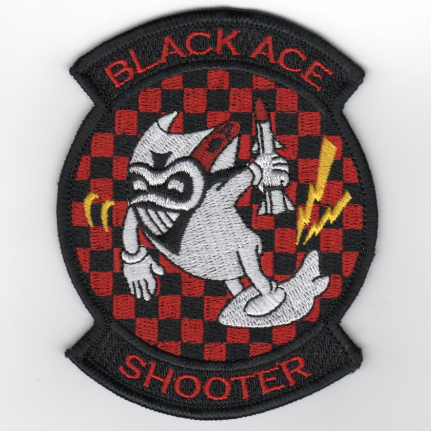 VFA-41 'SHOOTER' Patch (Checkerboard)