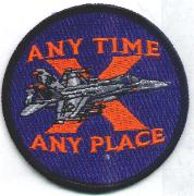 VFA-81 'X' Patch