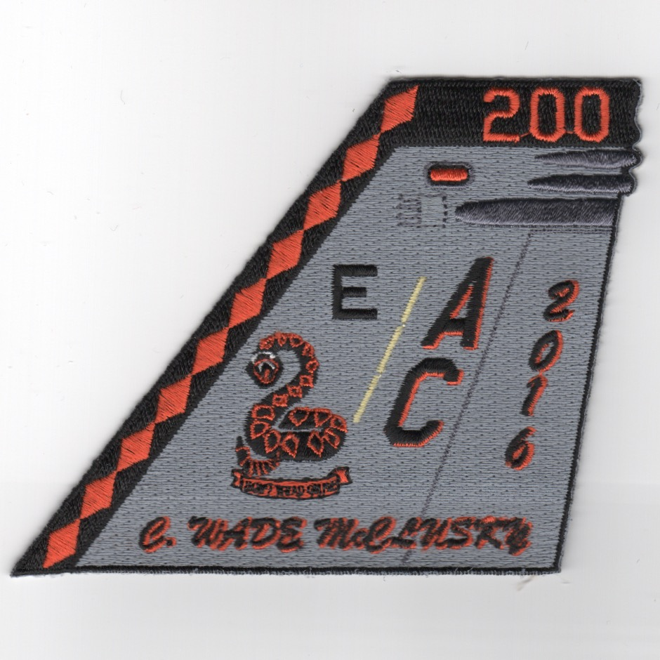 VFA-86 2016 Battle 'E' Tailfin Patch